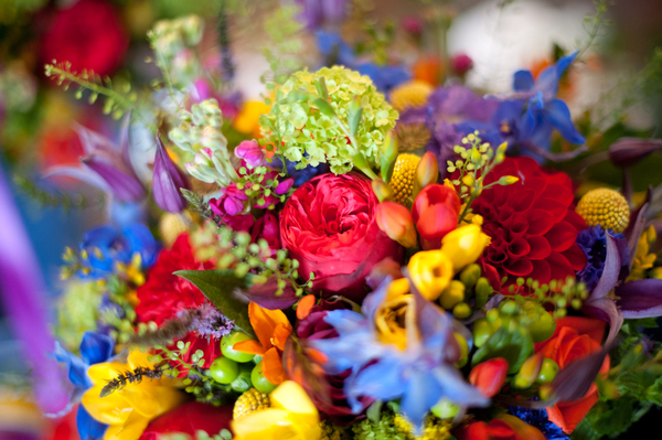 images by jamie penfold photography 2015 - www.memoriesandemotions.co.uk, colourful bridal bouquet , DIY wedding
