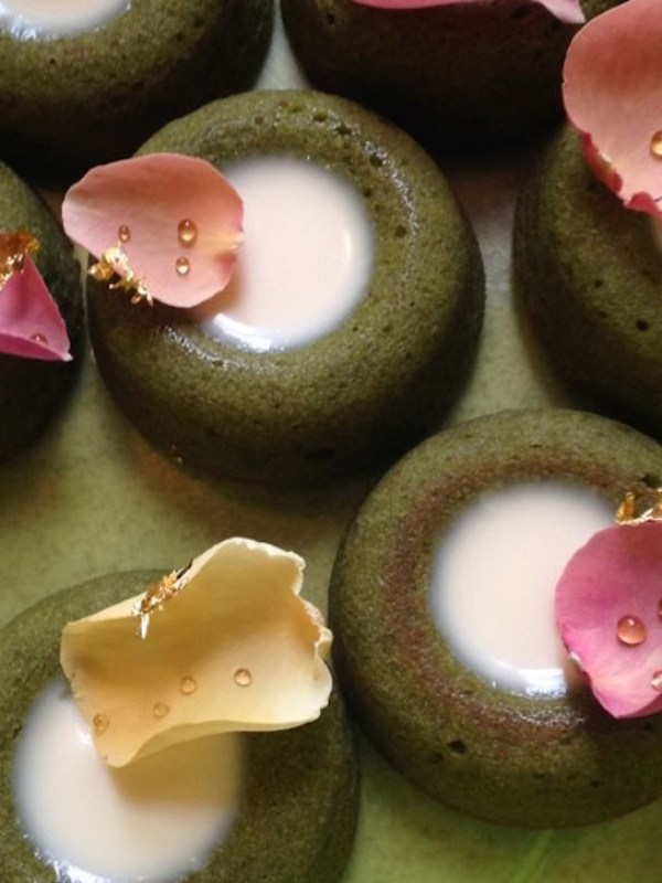 matcha-and-rose-financiers, image by Sonnda Catto