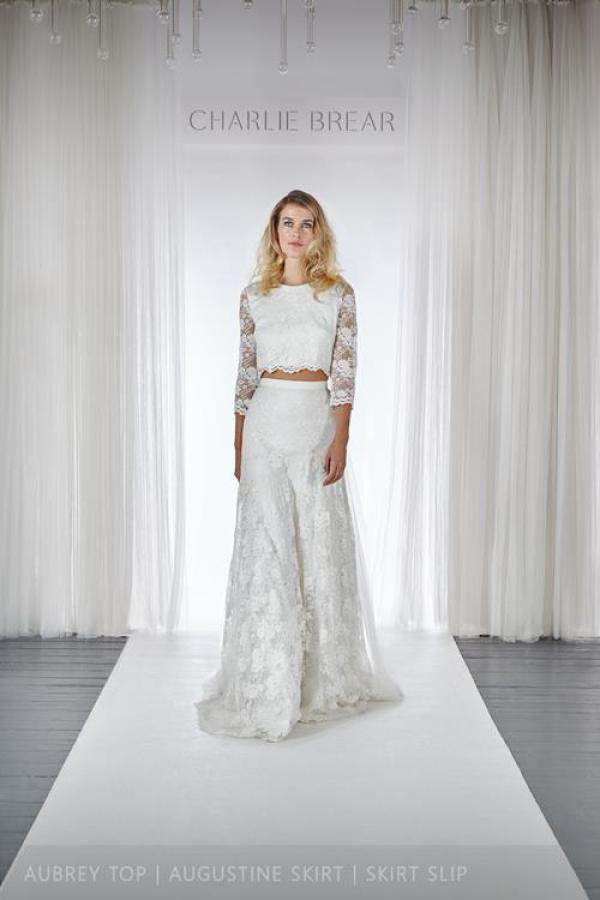 charlie-brear-2016-collection, bridal wear, Aubrey Top - Augustine Skirt - Slip