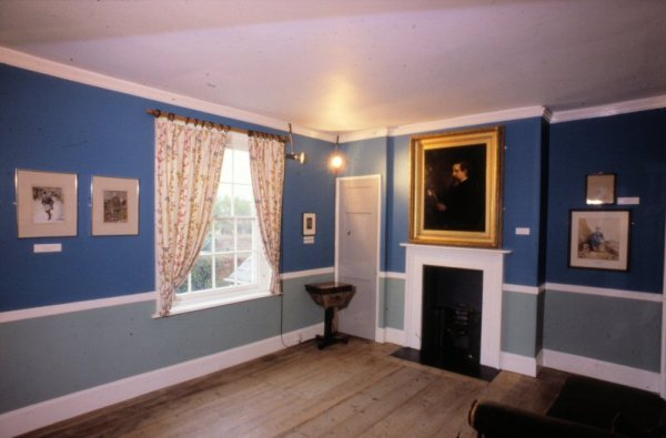 exhibition room, charles dickens birthplace, wedding venues