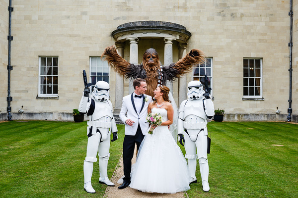 Star Wars Theme Wedding, Lina and Tom Photography, Hitchin Priory
