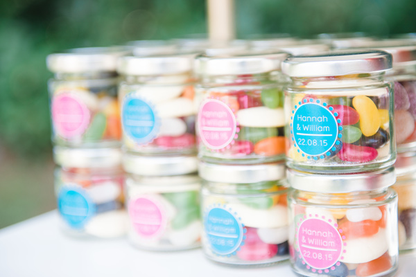 tropical wedding, jars - message in a bottle, tropical wedding styled shoot, hannah mcclune photo, stoke place