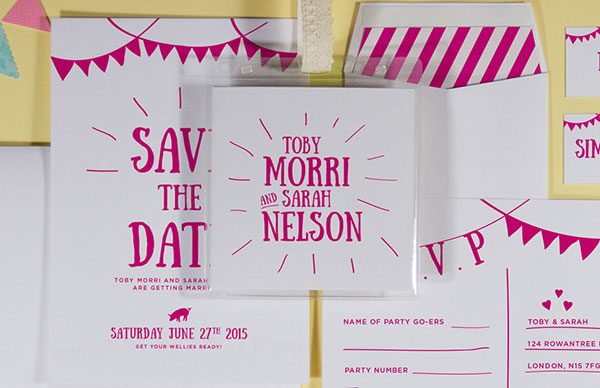 Festival Collection, BelleInk, Wedding Stationery
