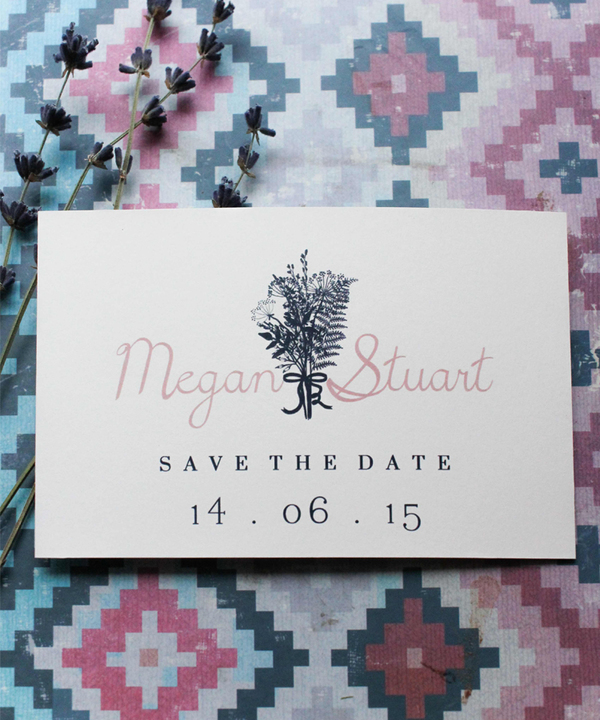 holly_rees_london, save_the_date_floral, wedding stationery