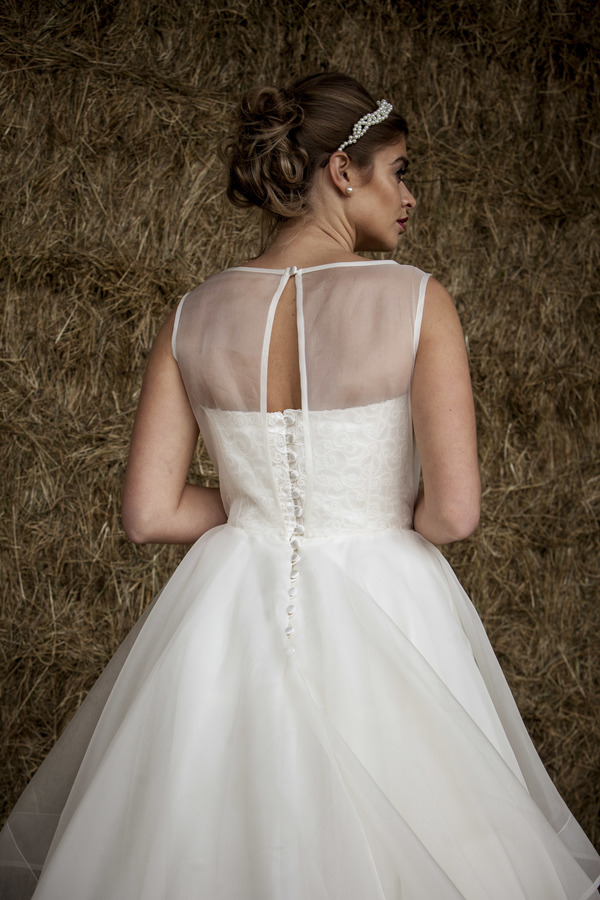 Adelaide back - Qiana Bridal Regal Splendour Collection, 2017 collection, kate everall photo