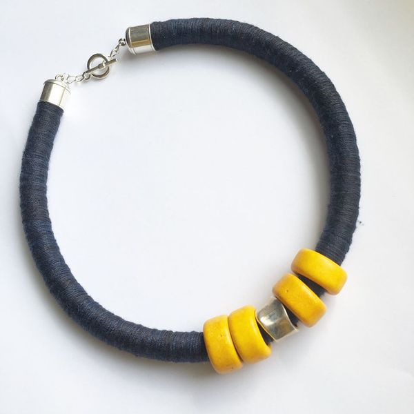 lark-and-lily-designs-black-and-yellow-bracelet
