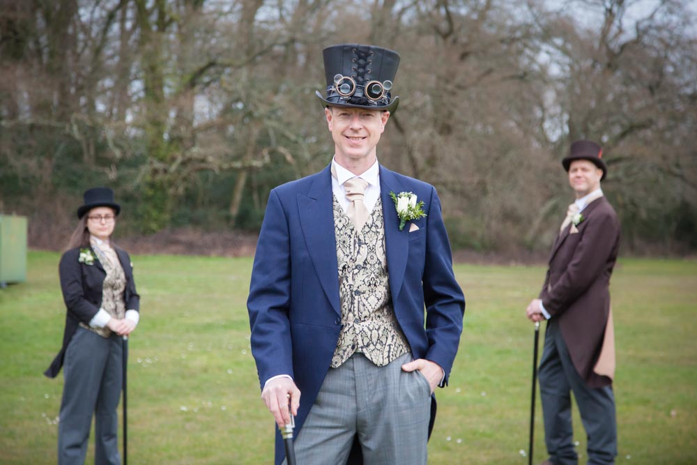 Sussex wedding, Steampunk Wedding, FitzGerald Photographic