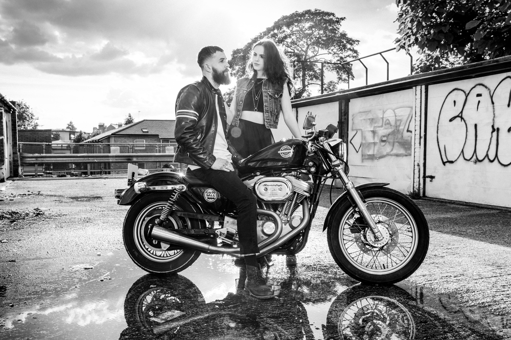 Harley Davidson Couples shoot , Xander Sandwell Photography
