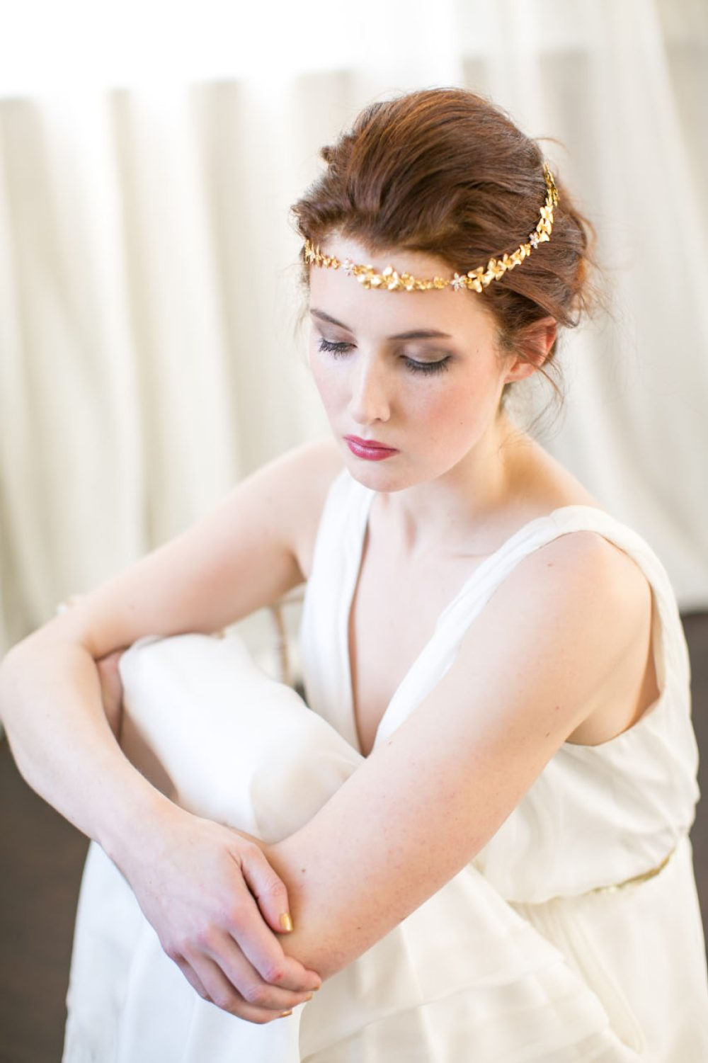 victoria-millesime-gold-orchid-forehead-band, Image by Anneli Marinovich