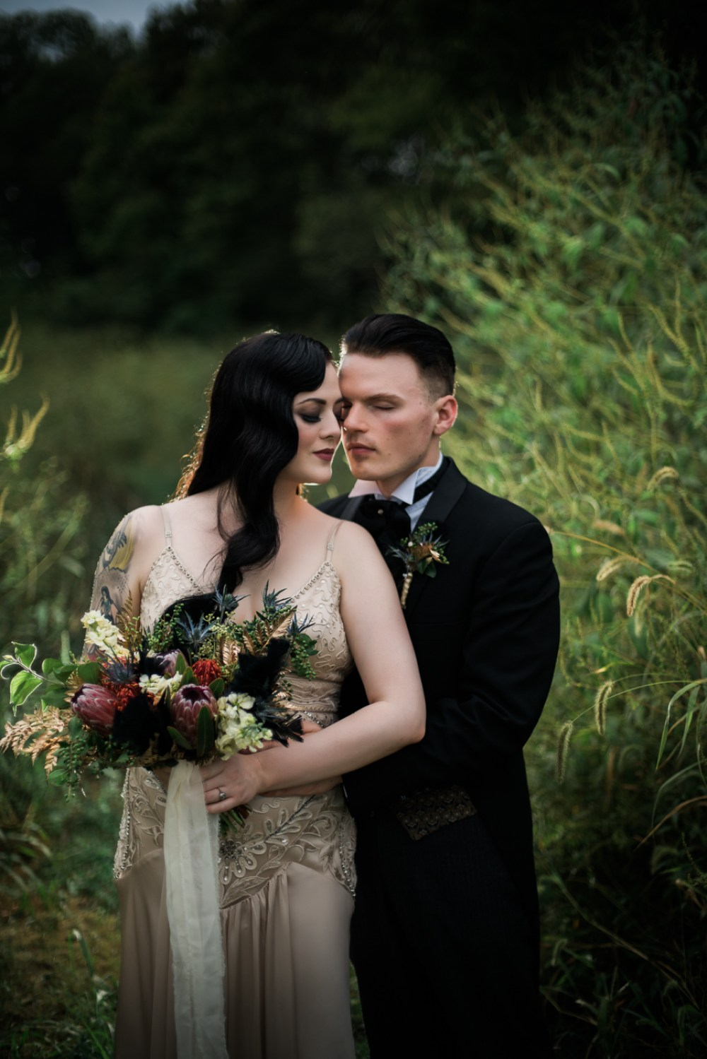and-how-imaging-gothic-inspired-styled-shoot-gothic-wedding-1920s-theme-wedding-1920s-inspired-styled-shoot-halloween-styled-shoot-gothic-inspired-wedding, gothic inspired styled shoot