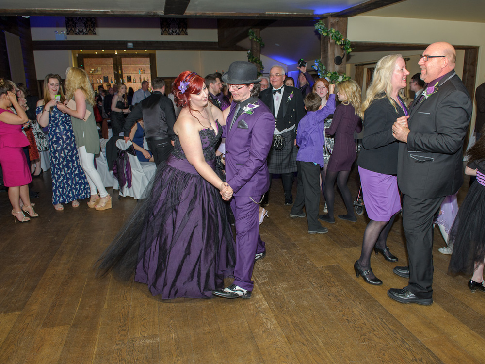 pengelly-photography-tim-burton-film-theme-wedding-purple-wedding-dress-essex-wedding-55jpg
