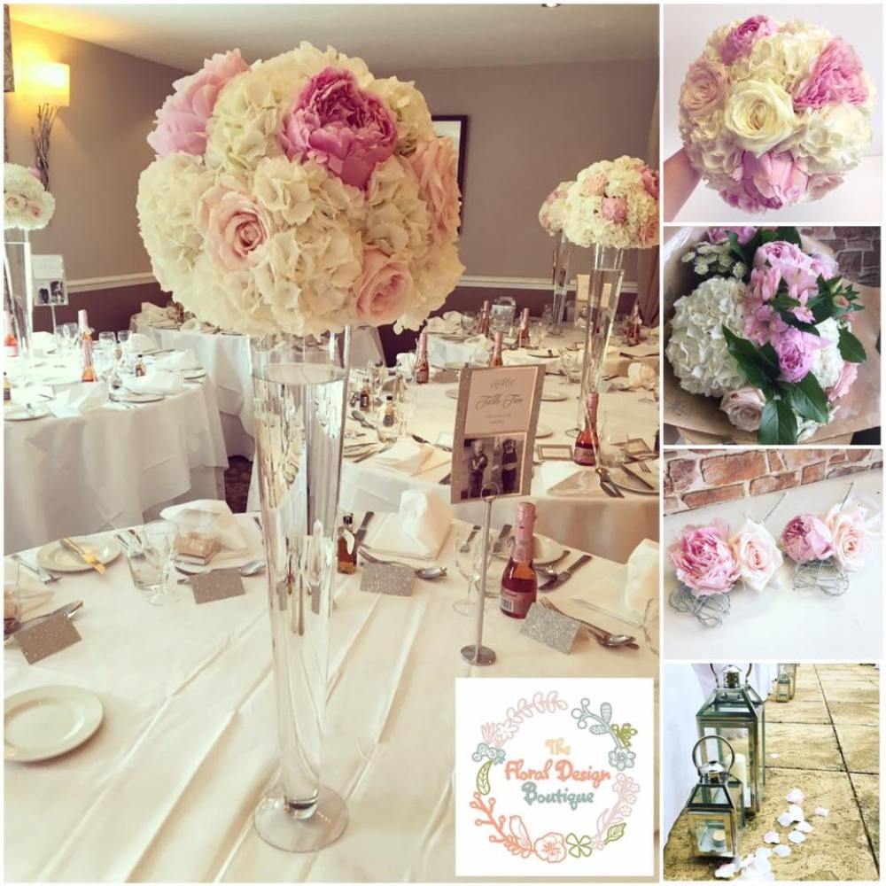 the floral design boutique, wedding florist glasgow, wedding flowers