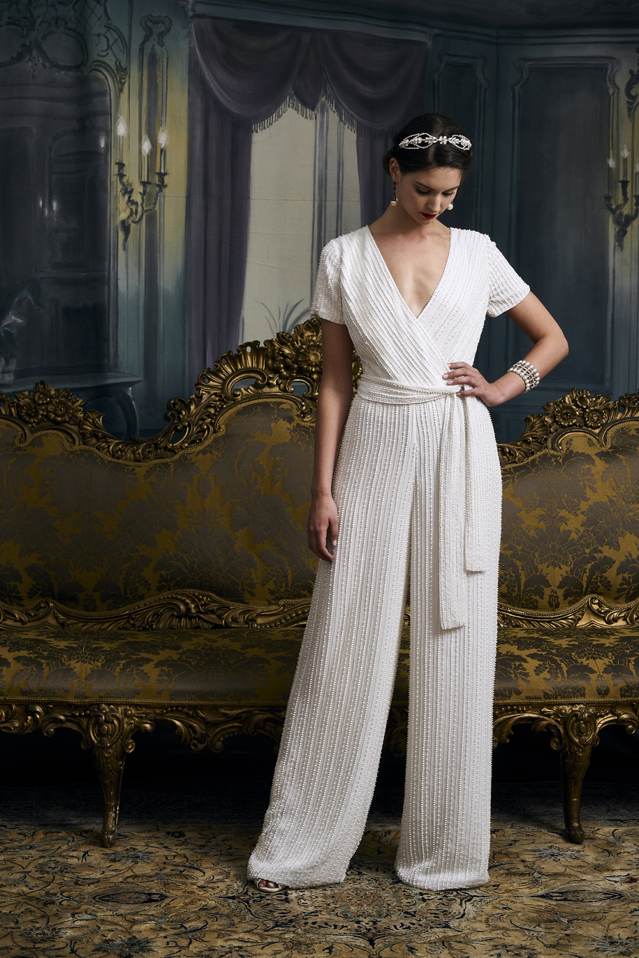 vintage inspired wedding dresses - Bess Jumpsuit