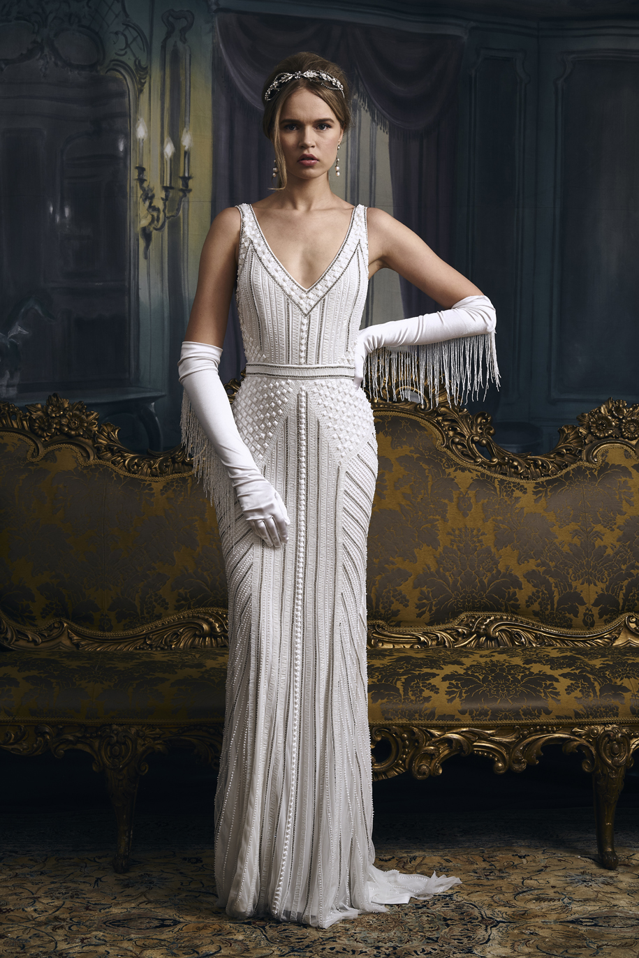 vintage inspired wedding dresses - Velma Kelly