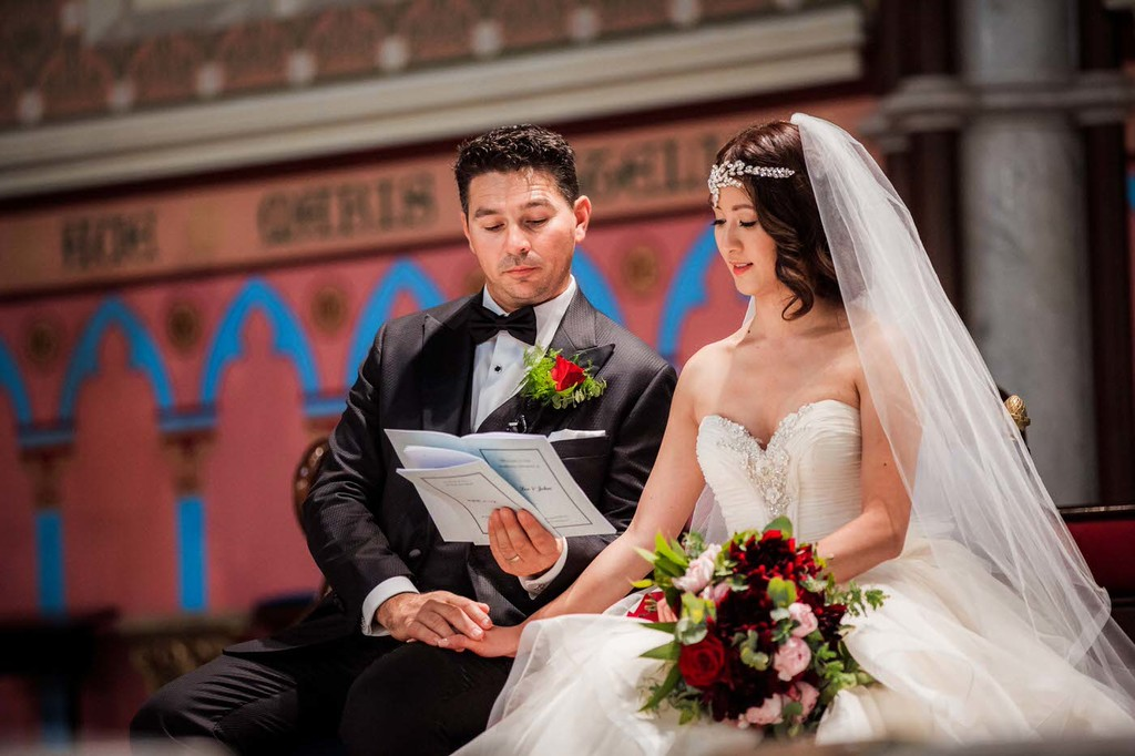 old hollywood inspired wedding - Clarte Photography