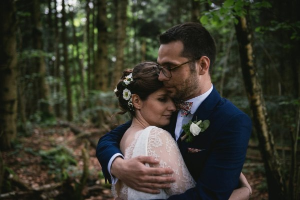 An intimate French Castle Wedding with pretty rustic details