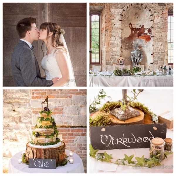 A Gorgeous Woodland meets Lord of the Rings inspired Wedding