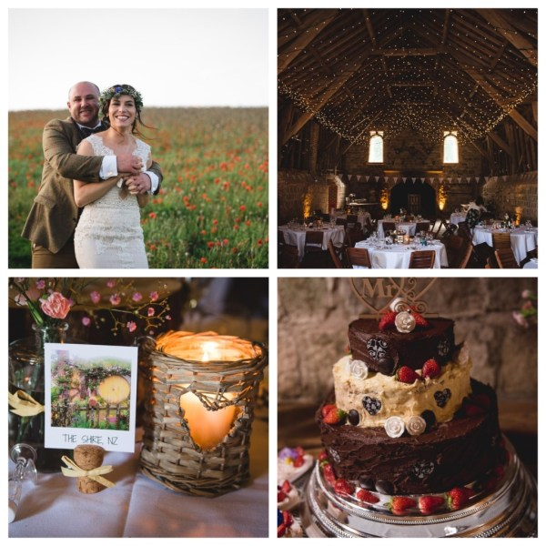 A Gorgeous Wiltshire Barn Wedding with beautiful rustic touches and hints of pastel tones