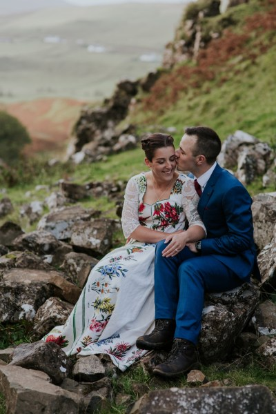 A beautiful atmospheric Isle of Skye Elopement featuring the Old Man of Storr & Fairy Glen