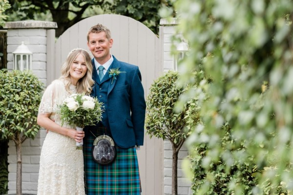 A dreamy, enchanted garden inspired wedding with classic ivory details