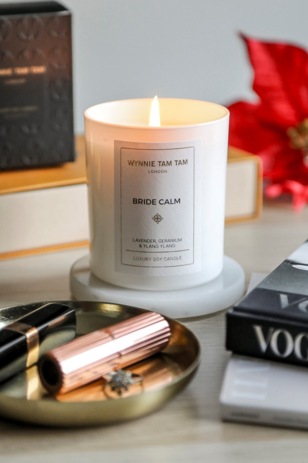 fragranced luxury candles - Wynnie Tam Tam