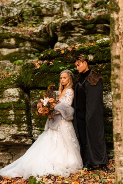 Breathtaking Game of Thrones inspired Wedding styled shoot