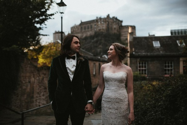 A gorgeous intimate Edinburgh Elopement at St. Anthony's Chapel