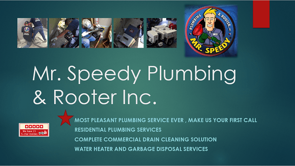 Mr Speedy Plumbing and Rooter Inc.
