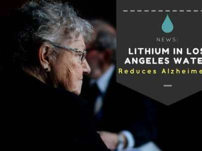 Lithium in Los Angeles Water Reduces Alzheimer's