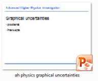 ppp graph uncerts