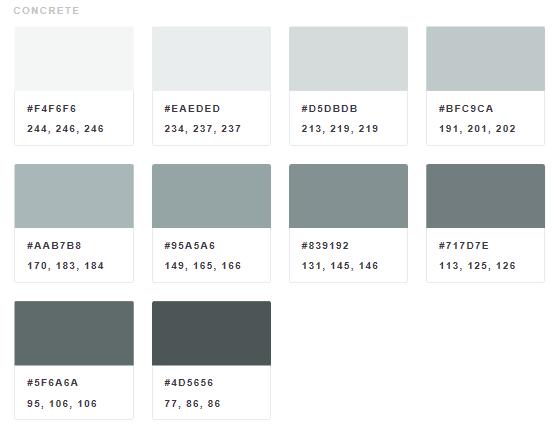 Going grey; making grey!