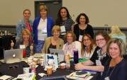 MassCUE board members at the Affiliate Summit.