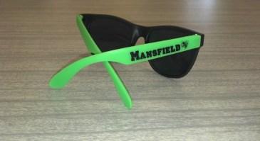 Green & Black Sunglasses