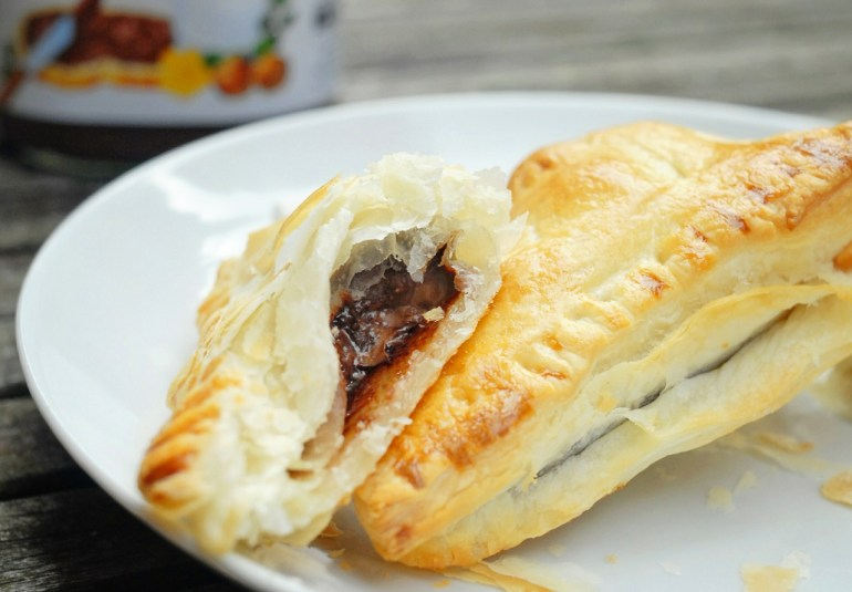 Nutella Marshmallow Turnovers