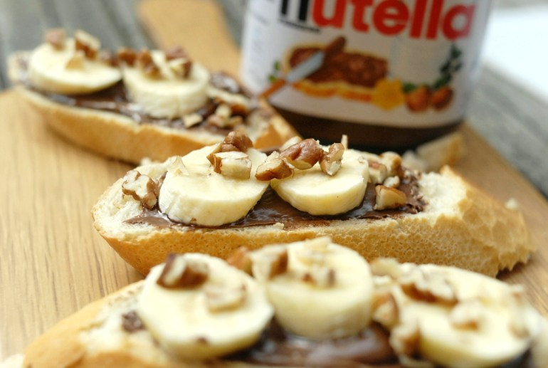 Recipe- Nutella Banana Bruschetta