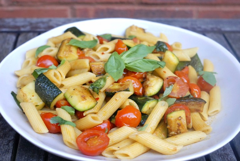Recipe -Penne with Zucchini and Cherry Tomatoes