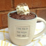 Microwave Recipe – Chocolate Mug Cake 微波爐巧克力蛋糕