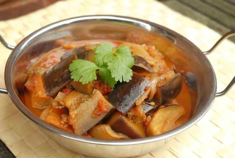 Recipe -Indian Eggplant with Fennel and Cumin