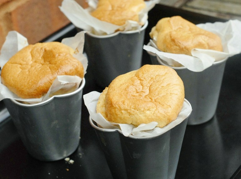 Recipe  -Wrapped Paper Chiffon Cake