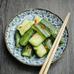 Chinese Pickled Cucumber 蒜拍青瓜