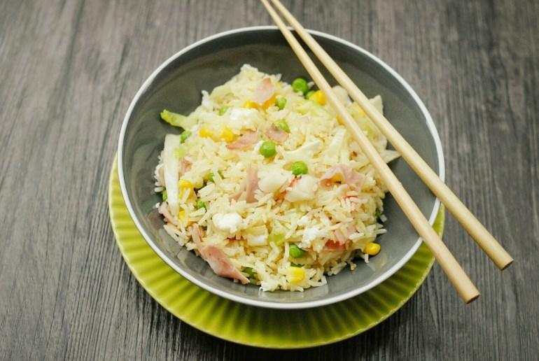 Golden Egg Fried Rice