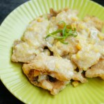 Fried Fish Fillet with Sweetcorn Sauce 粟米魚柳