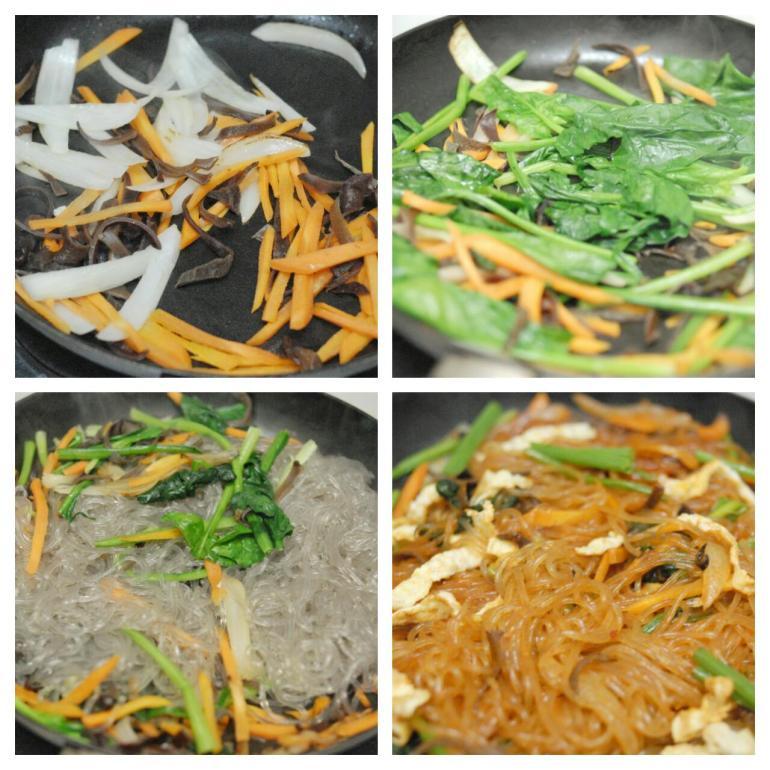 Korean Stir-fried Glass Noodles