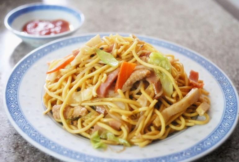 Recipe - stir-fried Noodles