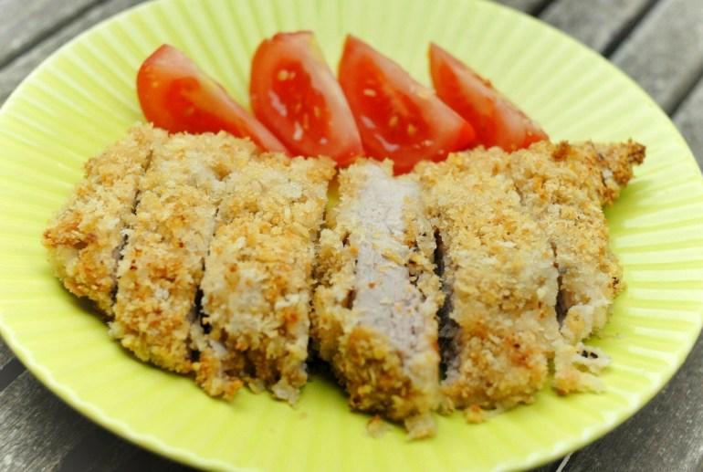 Recipe - Baked Tonkatsu