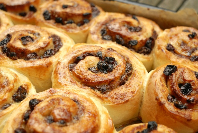 Recipe - Raisin Cinnamon Buns