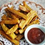 Oven Baked Sweet Potato Fries焗蕃薯條