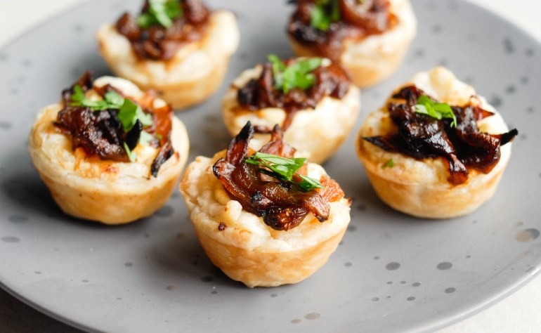 Caramelised Onion & Goat's Cheese Tartlets
