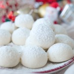 Snowball Cookies / Melting Moments 雪球曲奇