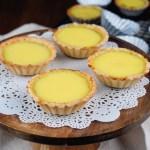 Hong Kong -Style Egg Tarts 港式蛋撻